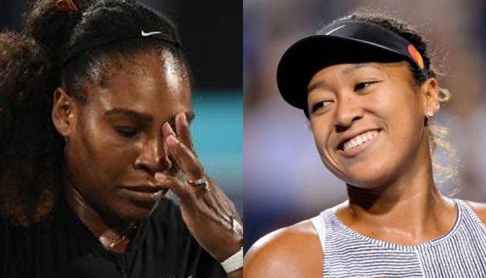 جاپانی ٹینس اسٹار ناؤمی اوساکا نے سرینا ولیمز کو پیچھے چھوڑ دیا