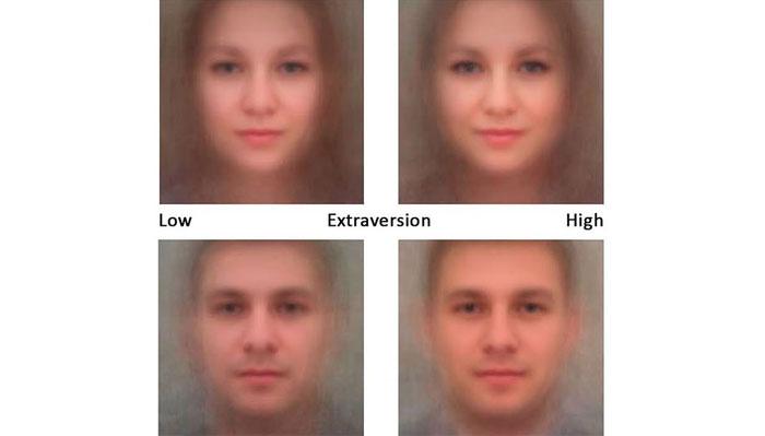 چہرہ شناسی ٹیکنالوجی سےشخصی خصائل کا پتہ چل سکتا ہے، تحقیق