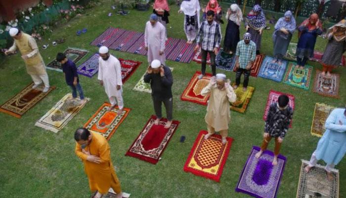 بھارت اور بنگلادیش میں آج عیدالفطر منائی جا رہی ہے