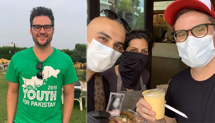 پاکستانی کھانوں سے لطف اندوز ہوتے ہوئے عید مبارک