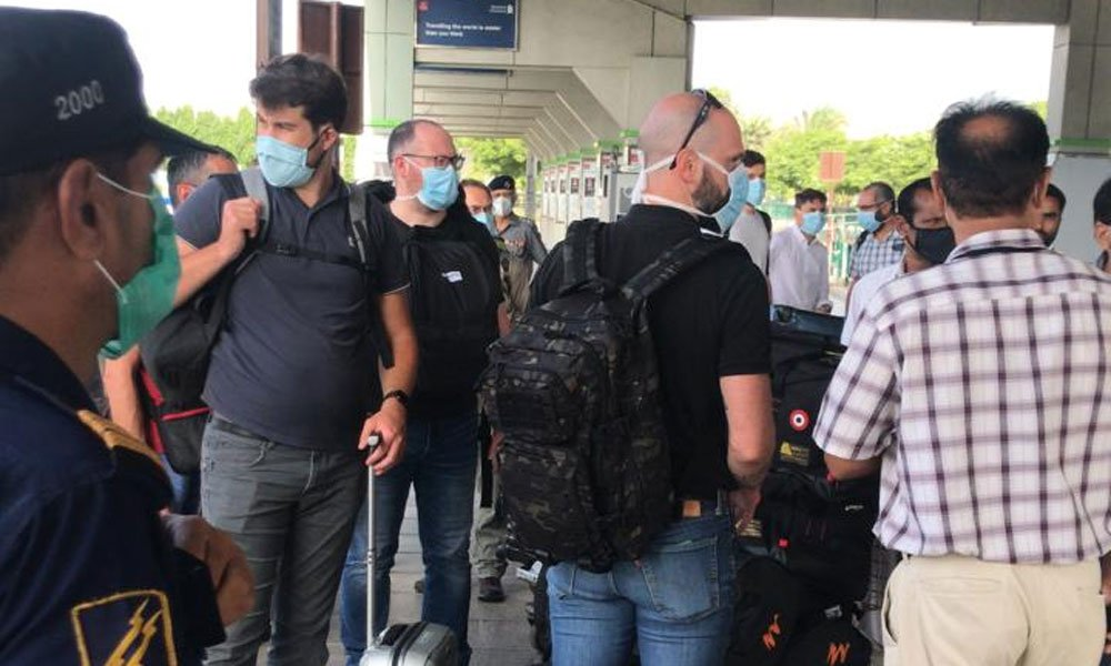 طیارہ حادثے کی تحقیقات کیلئے ایئر بس ٹیم پہنچ گئی