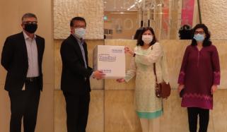 سنگاپور نے کروڑوں کی ٹیسٹنگ کٹس پاکستان بھیج دیں