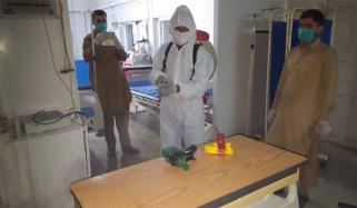 ضلعی اسپتال ایبٹ آباد، طبی عملے کے 28 افراد کورونا میں مبتلا