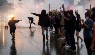 امریکا: سیاہ فام شخص کی پولیس کے ہاتھوں ہلاکت کے خلاف احتجاج