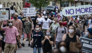 امریکی ریاست مینی سوٹا میں مظاہروں کا تیسرا دن