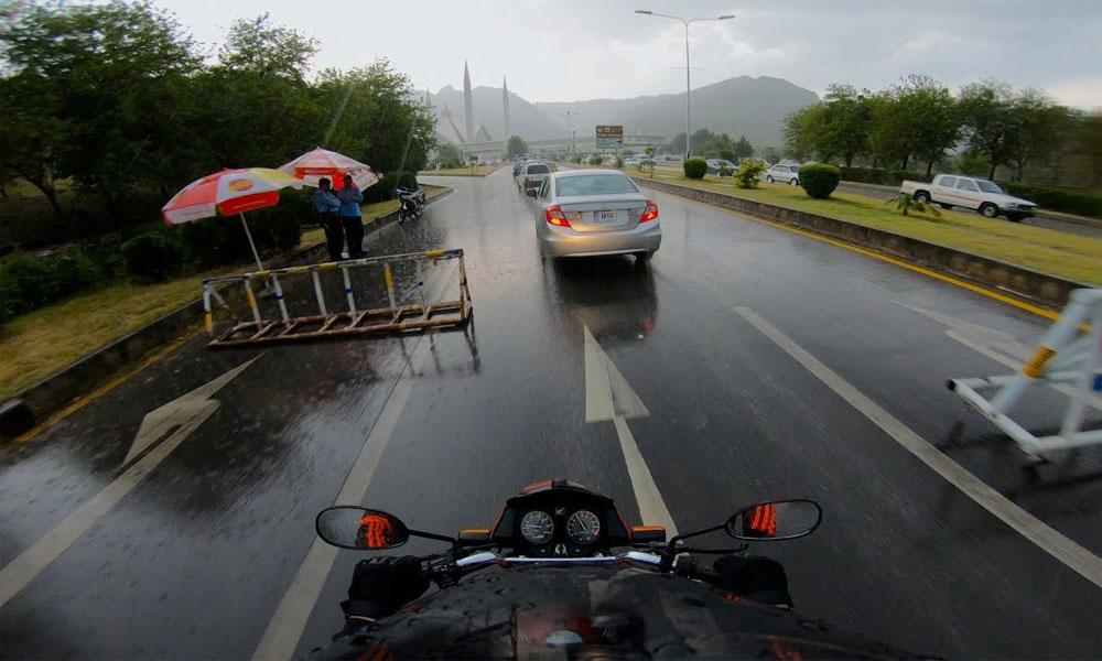 اسلام آ باد: بارش سے متعدد علاقوں میں بجلی معطل