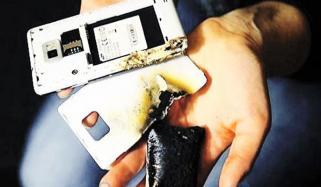خبردار! موبائل فون کی بیٹری سے بھی ہوسکتا ہے نقصان