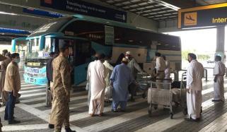 امارات میں پھنسے 262 پاکستانی وطن پہنچ گئے