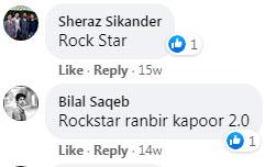 پاکستانی رنبیر کپور کے سوشل میڈیا پرچرچے
