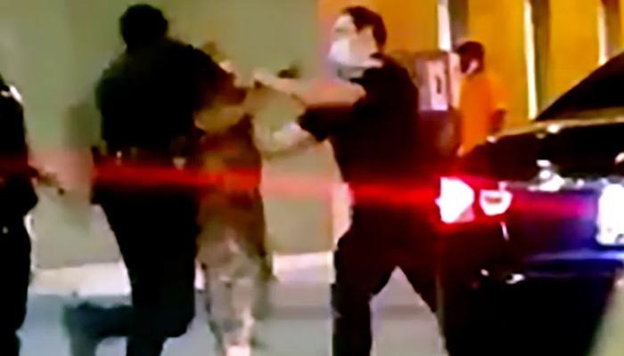 امریکا: سیاہ فام شہری کی موت پر مظاہروں کیساتھ پولیس گردی بھی جاری