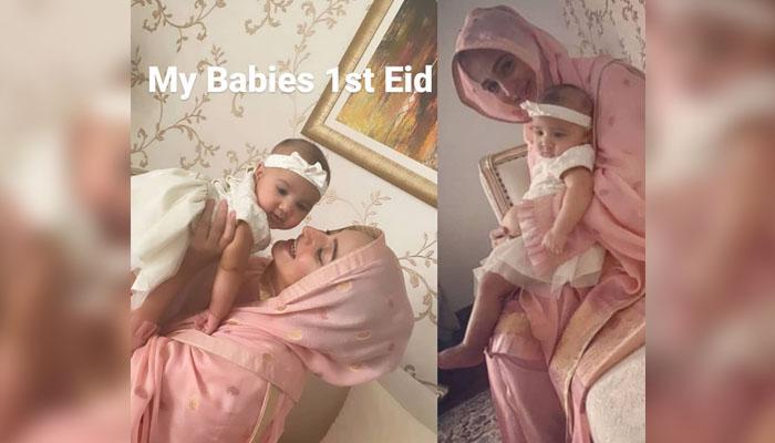 نور بخاری نے چھوٹی بیٹی کے ساتھ تصویریں شیئر کردیں