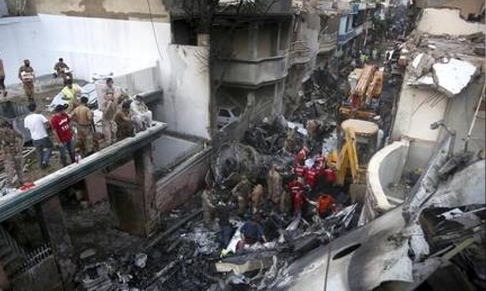 طیارہ حادثے میں 18 مکانات کو نقصان پہنچا ہے، SBCA