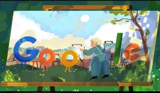گوگل کا ڈوڈل مصورہ اینا مولکا کے نام
