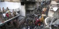 'طیارہ حادثے میں 18 مکانات کو نقصان پہنچا ہے'