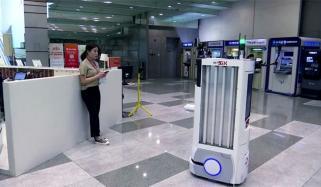 جنوبی کوریا کی کمپنی میں کورونا اسکریننگ کیلئے روبوٹ کا استعمال