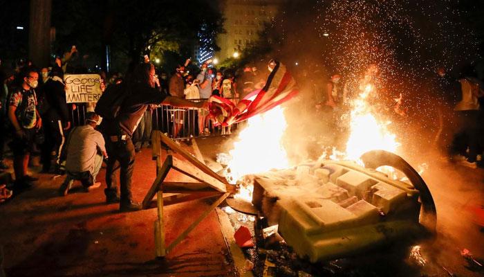 امریکی شہریوں کی اکثریت مظاہرین کی حامی