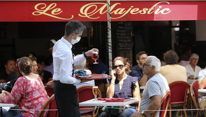 لاک ڈاؤن میں نرمی، پیرس میں ریستوران کھل گئے