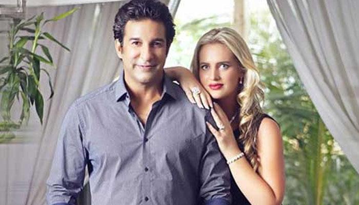 لاک ڈاؤن ،شنیرا کی وسیم اکرم کو سالگرہ کی مبارکباد