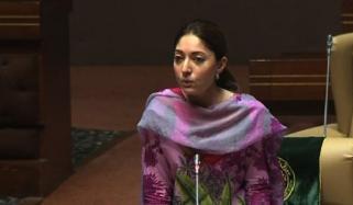 سندھ اسمبلی، شرمیلا فاروقی نے اسمبلی رکنیت کا حلف لے لیا
