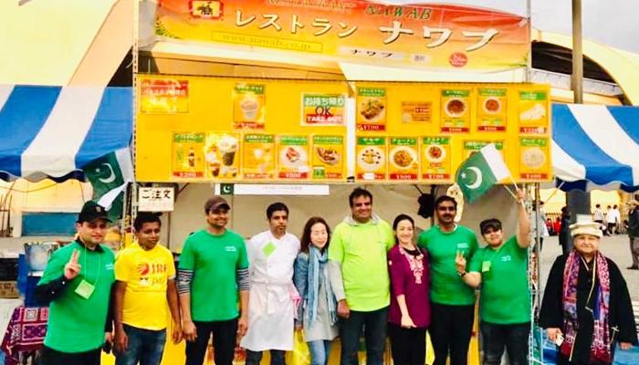 جاپان میں تیزی سے مقبول ہوتی پاکستانی خاتون شیف