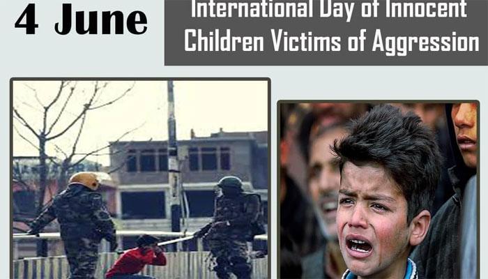 بھارت نے مقبوضہ کشمیر سے تیرہ ہزار کم عمر بچوں کو حراست میں لیا، رپورٹ