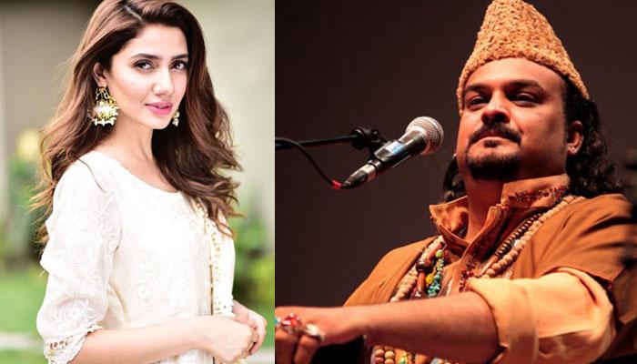 ماہرہ خان کا امجد صابری کو خراج عقیدت