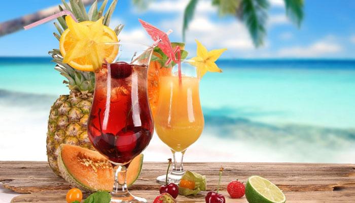 گرمی کی شدت کم کرنے والے مشروبات