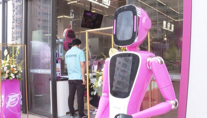 چین میں روبوٹس شفیس اور ویٹر بن گئے