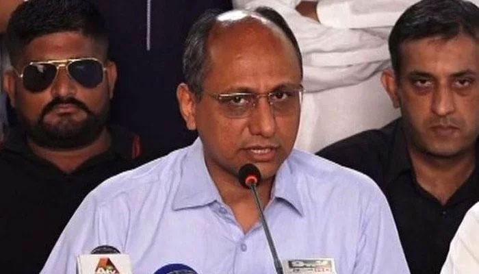 صوبوں کے پیسے پر وفاق پلتا ہے ، سعید غنی