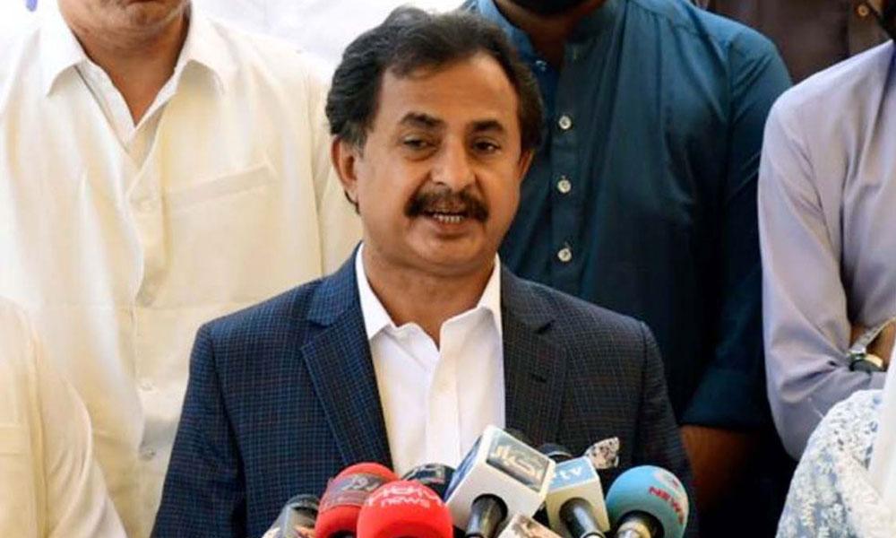 کراچی کو پانی دو، سڑکیں دو، کچرا اٹھاؤ: حلیم عادل شیخ