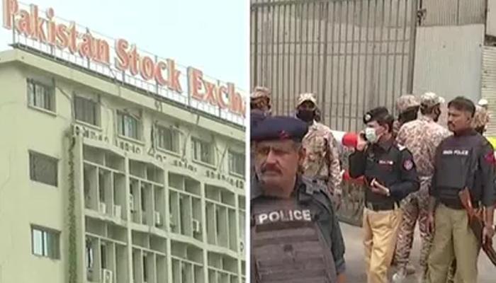اسٹاک ایکسچینج حملہ،غیرملکی سفارتکاروں کےمذمتی بیانات