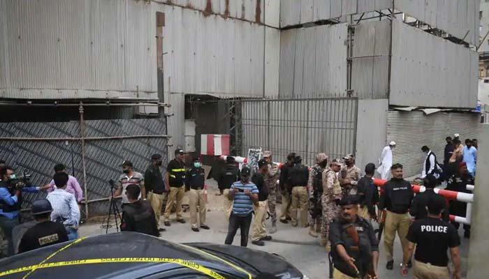 امریکی سفارت خانے کی اسٹاک ایکسچینج پر حملے کی مذمت