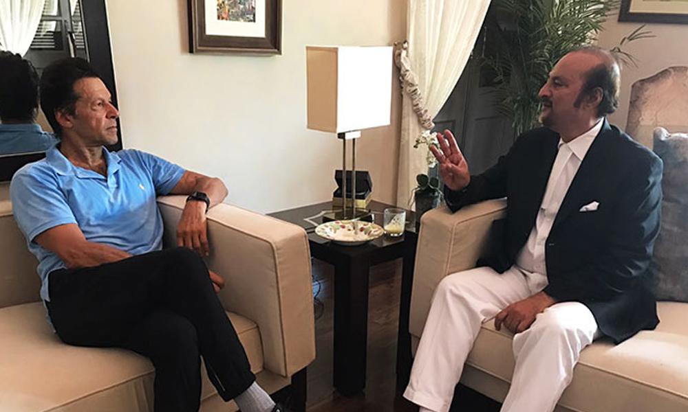 پی ٹی وی پارلیمنٹ حملہ کیس میں عمران خان کے وکیل تبدیل