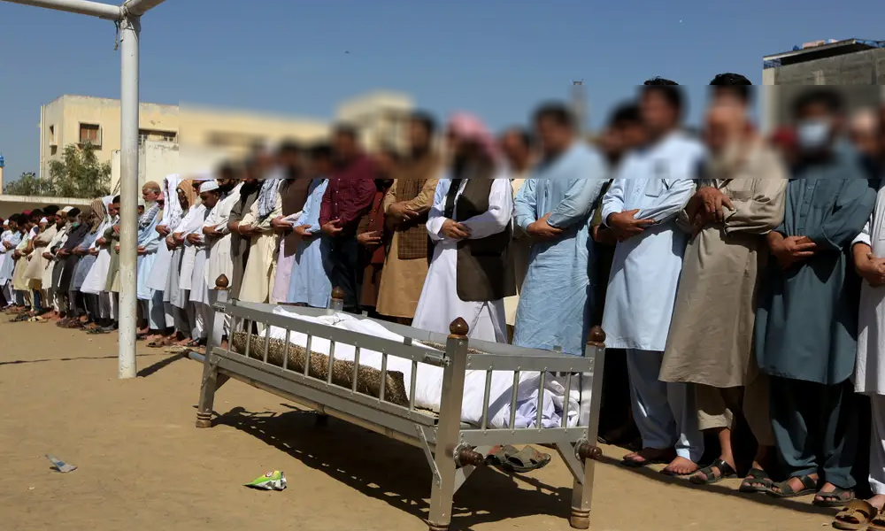 PSX حملے کے 2 ہیروز سیکیورٹی گارڈز کی تدفین