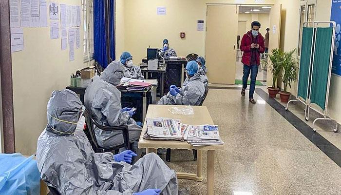 کورونا سے متاثرہ مریضوں کی تعداد ایک کروڑ ساڑھے چار لاکھ سے تجاوز