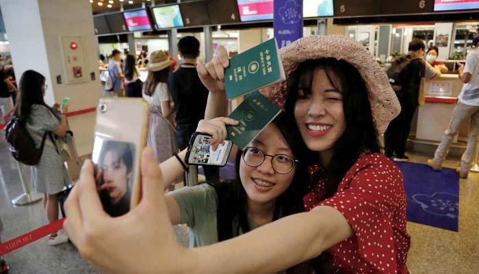 تائیوان: لاک ڈاؤن سے تنگ سفر کےخواہشمندوں کے لیے فیک فلائٹس