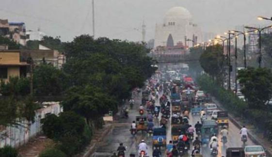 کراچی میں اگلے ہفتے بارش کا امکان