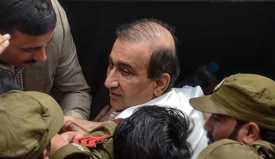 میر شکیل الرحمٰن کی گرفتاری کیخلاف سکھر یونین آف جرنلسٹ کا احتجاج