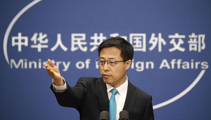 بھارت سے کشیدگی کم کرنے کے لیے کمانڈر لیول پر بات چیت ہوئی، چین