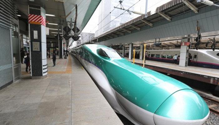 جاپان میں بلٹ ٹرین تیار کرلی گئی