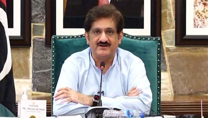 وزیر اعلیٰ سندھ کا کلفٹن میں واقع نجی اسپتال کا دورہ، کورونا وارڈ کا افتتاح کیا