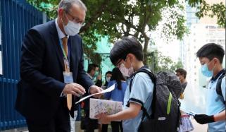 ہانگ کانگ ، کورونا کیسز بڑھنے پر اسکول بند کئے جانے کا امکان