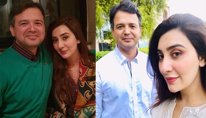 عائشہ خان کا اپنے شوہر کیلئے محبت بھرا پیغام
