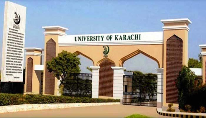 رینجرز نے ملزم کو گرفتار کرکے جامعہ کراچی سے چوری شدہ سامان برآمد کرلیا