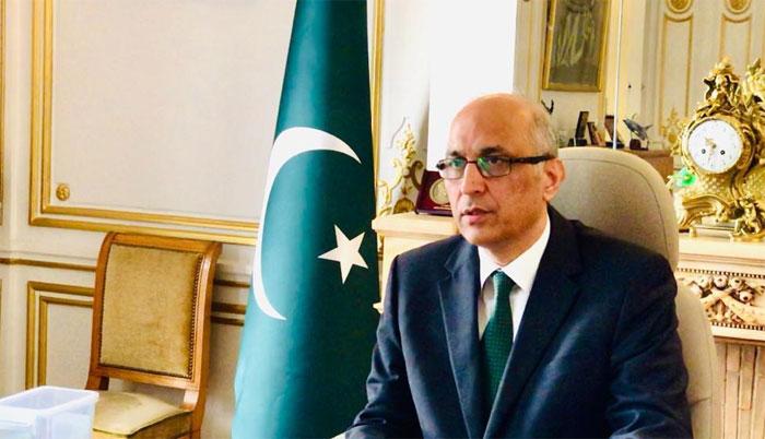 فرانس کے جدید طریقہ کاشتکاری سے پیداوار میں اضافہ کرسکتے ہیں، سفیر پاکستان