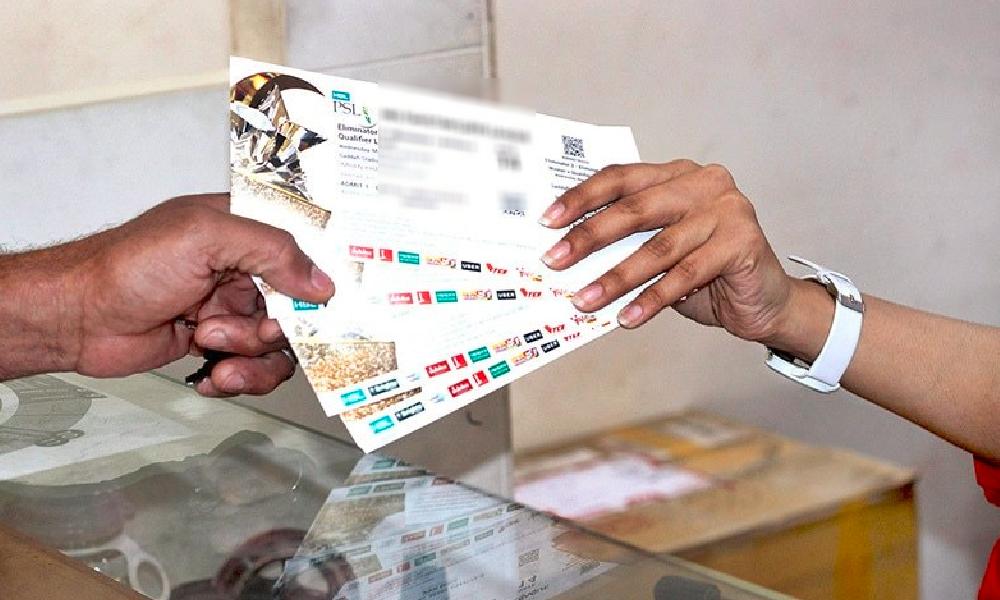 PSL فائیو کے ٹکٹوں کی ری فنڈ شروع