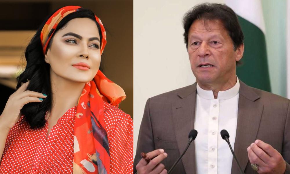 وینا ملک نے عمران خان کو درست قرار دے دیا