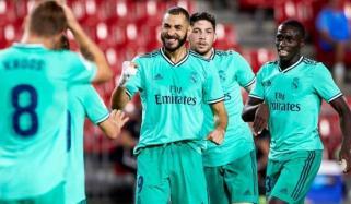 اسپینش فٹبال لیگ: ریال میڈرڈ نے گریناڈا کو ہرادیا