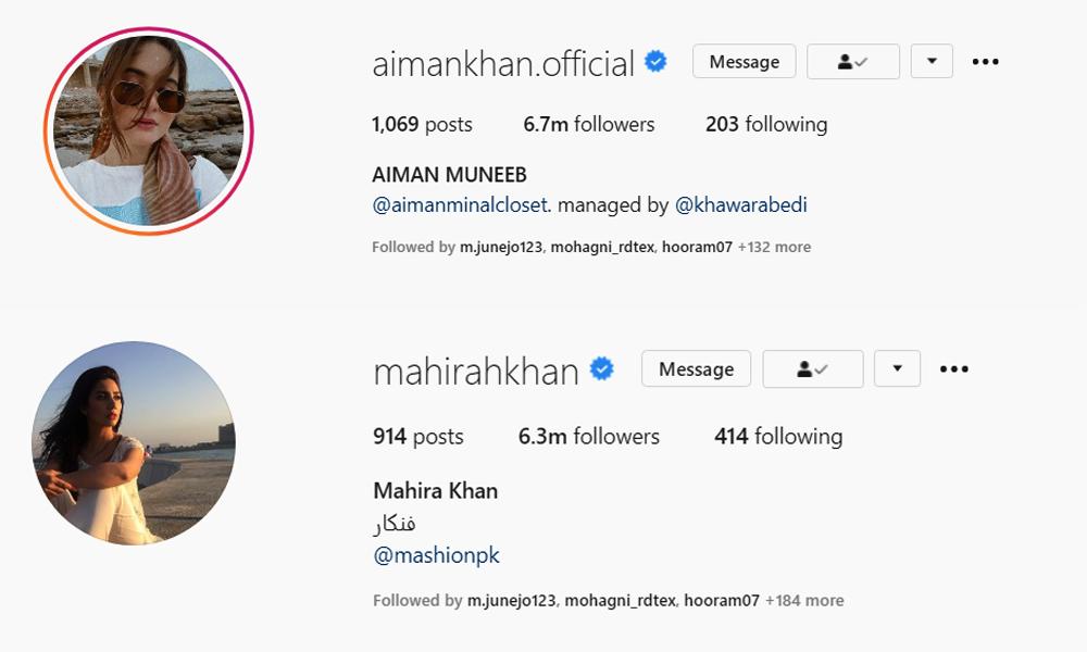 سارہ خان کے انسٹا پر 5 ملین فالوورز ہو گئے