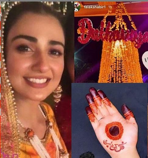 سارہ خان نے فلک شبیر کو 'ہاں' کردی